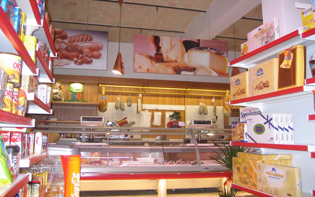Popolare CENTRO VETRINE INOX: foto arredamenti negozi Food Alimentari GG55