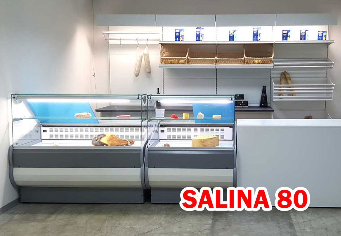 PANETTERIE REFRIGERATE LINEA SALINA 80