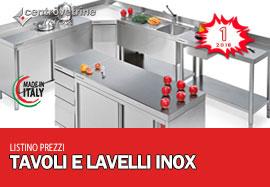 Listini prezzi - Tavoli acciaio inox prezzi ...