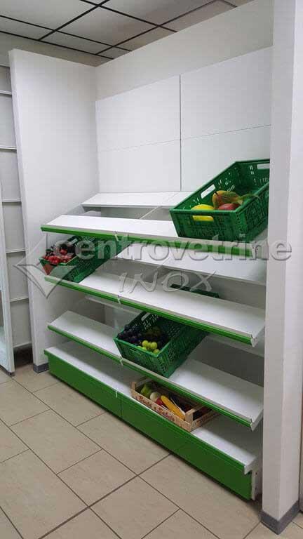 Scaffale frutta e verdura cpr da 243 profondita 39 60 cm for Arredamenti per negozi di frutta e verdura
