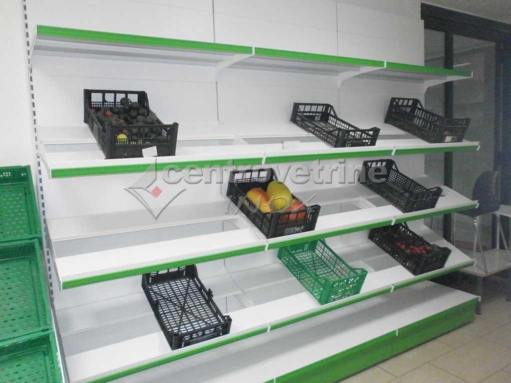 Scaffale frutta e verdura da 300 for Arredamenti per negozi di frutta e verdura