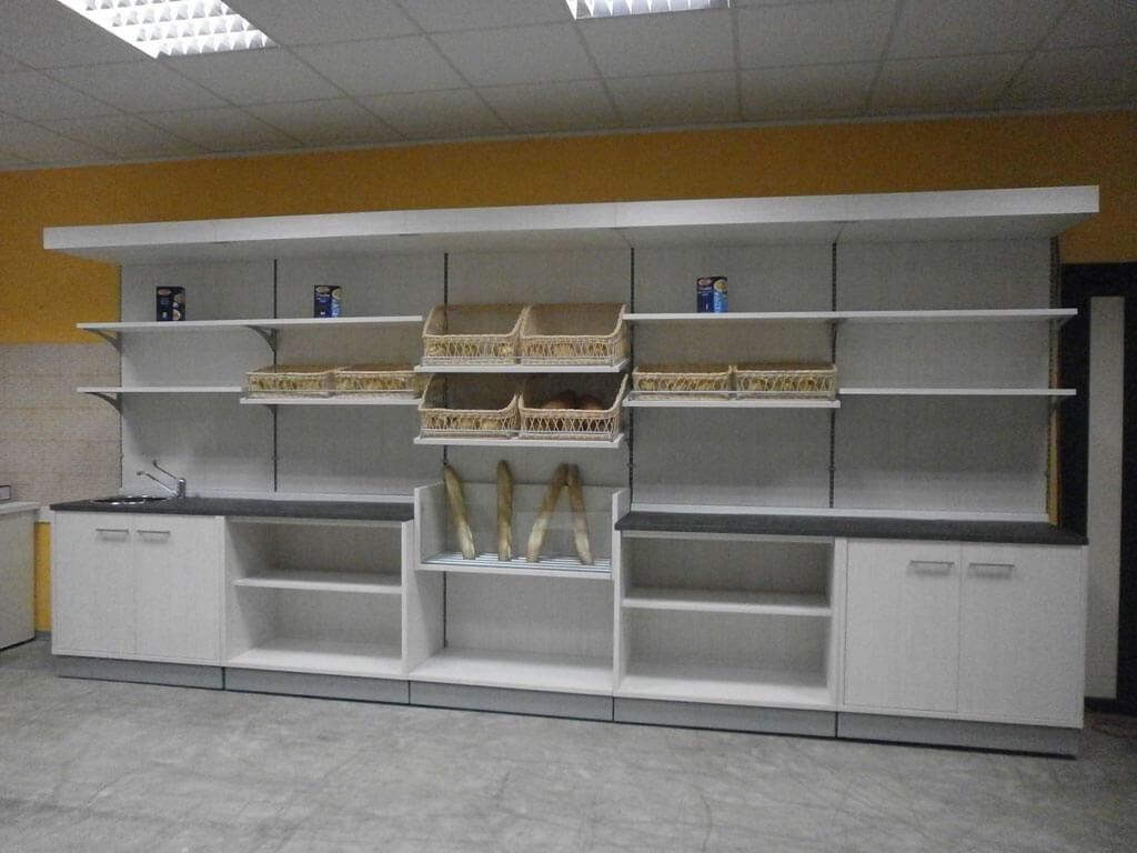 scaffali per frutta scaffalatura standard per frutta e verdura a