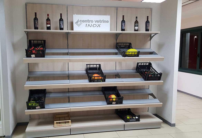 Arredamenti per negozi di frutta e verdura alimentari in pronta