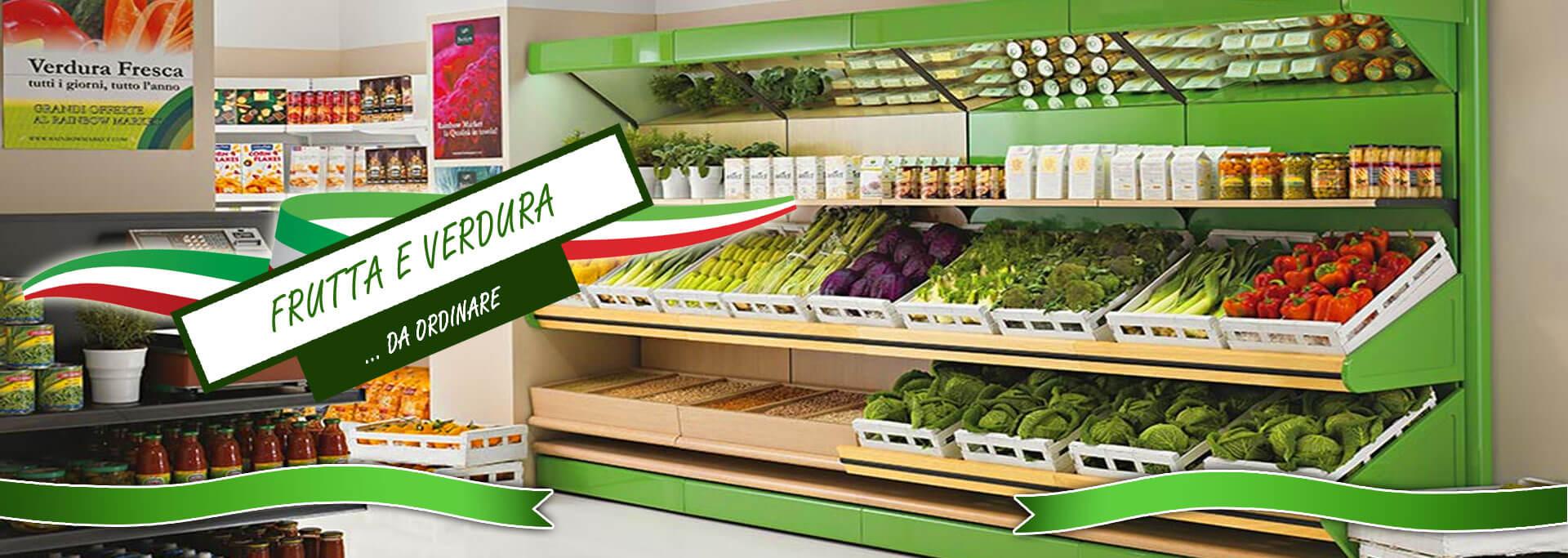 Arredamenti e scaffali per negozi di frutta e verdura da for Arredamenti per negozi di frutta e verdura