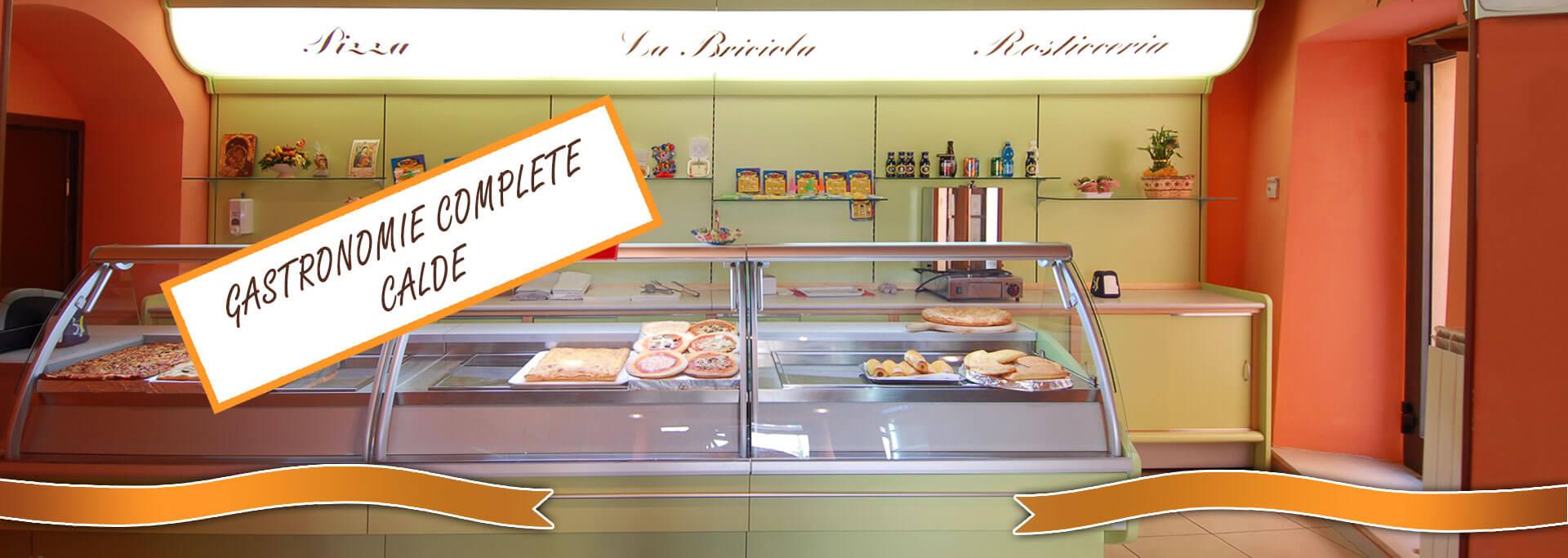 Arredamenti e retrobanchi completi di banchi caldi per for Banchi bar e arredamenti completi