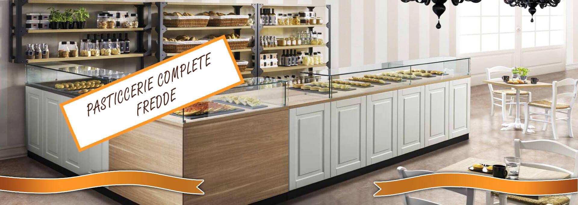 Arredi e retro banchi completi di banchi refrigerati per for Banchi bar e arredamenti completi
